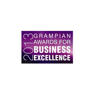 Grampian Enterprise Business Awards 2013 finalist (Business Success over 3 years)