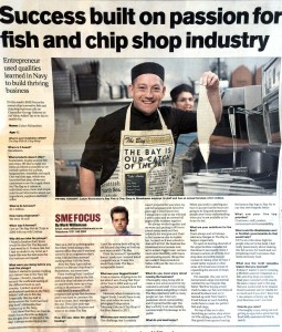 Success built on passion for fish and chip shop industry
