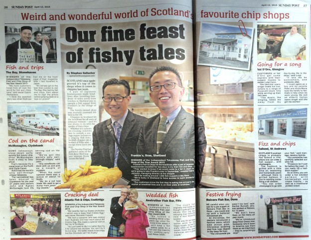 Our fine feast of fishy tales