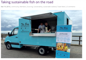 Sustainable Restaurant Association - Taking sustainable fish on the road