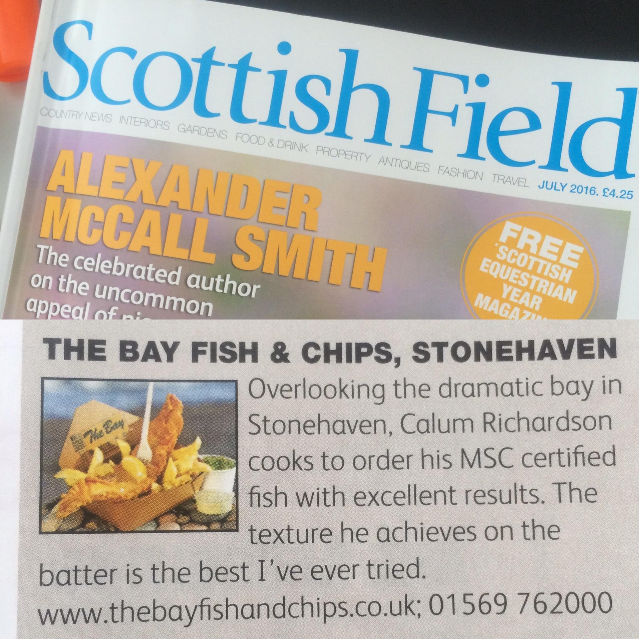 Scottish Field - Chef's Choice