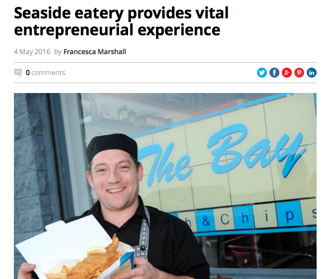 Chippy Chat: Seaside Eatery's Entrepreneurial Experience