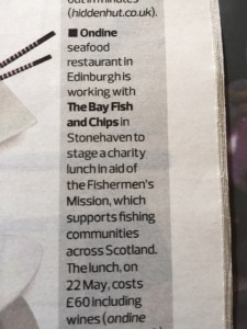 The Guardian - Fishermen's Mission Lunch