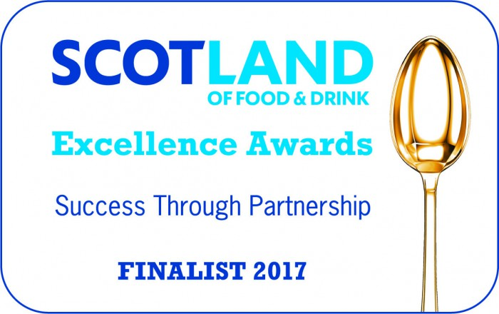 Scotland of Food & Drink Excellence Awards Finalist 2017