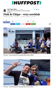 The Bay Fish & Chips has been featured in the Huffington Post, Germany