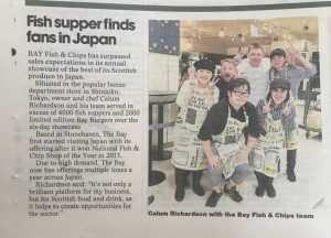 Scotland's Catch of the Day Conquers Japan