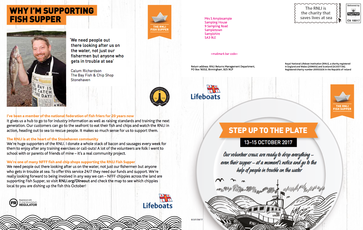RNLI - Fish Supper