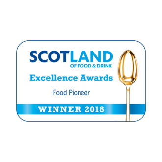 Scotland Food and Drink Excellence Awards 2018 - Food Pioneer Winner