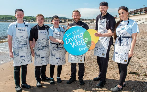 The Bay is first UK fish and chip shop to offer Living Wage