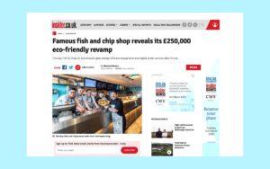 The Bay's revamp covered on Insider.co.uk