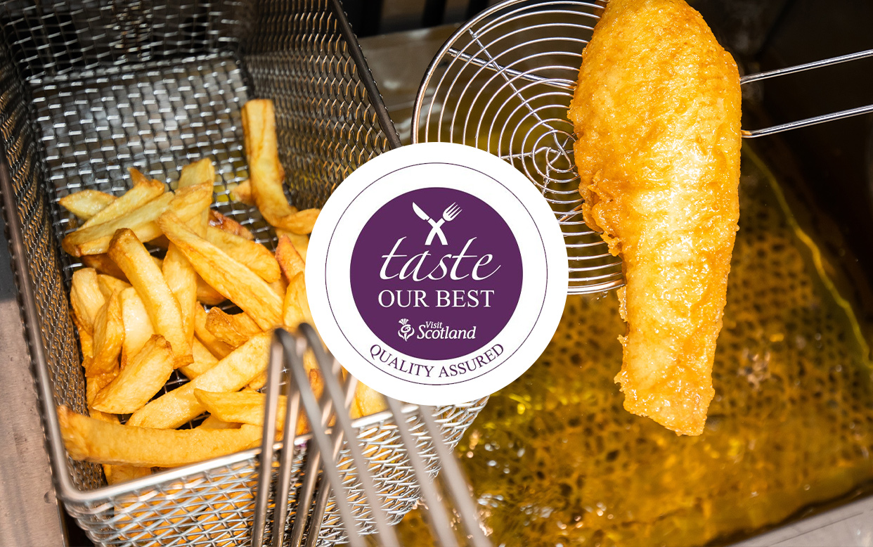 The Bay Fish and Chips awarded Visit Scotland's Taste our Best
