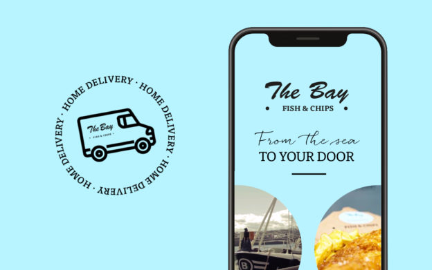 The Bay's new delivery service promoted in The Press and Journal