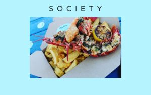 The return of our grilled lobster's reported in Society Aberdeen