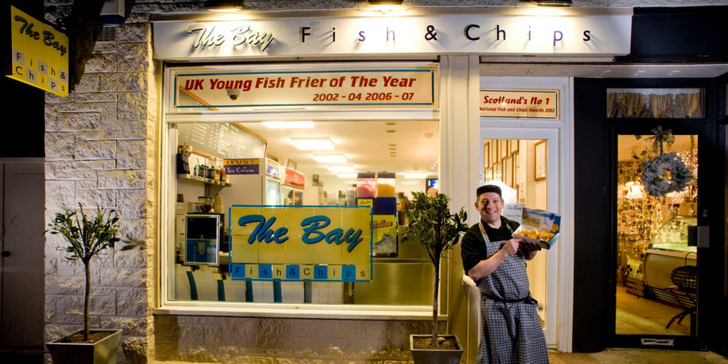 The bay fish and chips achievements